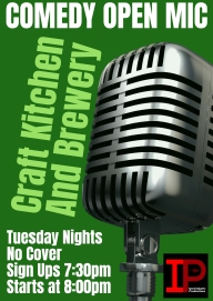 Comedy Open Mic Every Tuesday